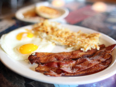 Bacon, Eggs and Hashbrowns
